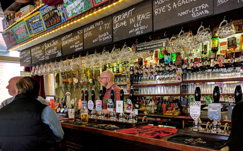 The Nag's Head bar
