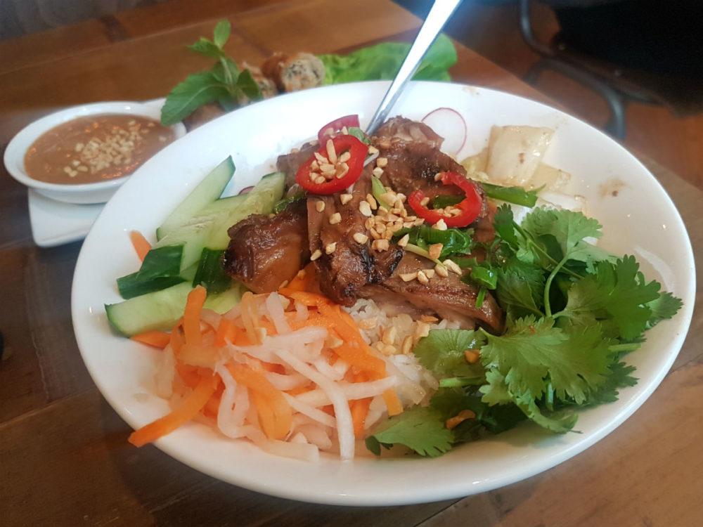 Pho rice bowl