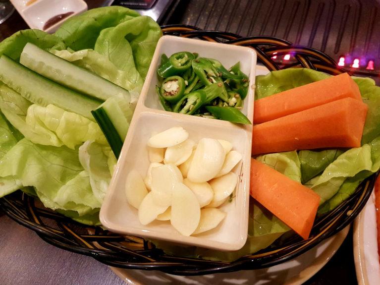 Ssam Vegetable basket