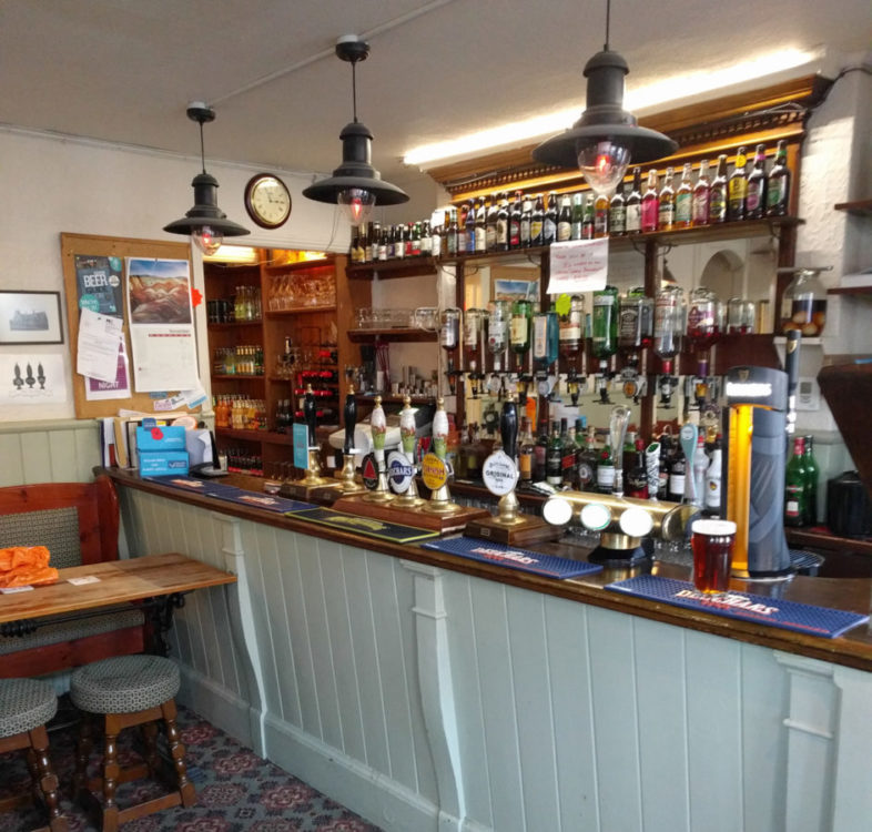 The Retreat front bar