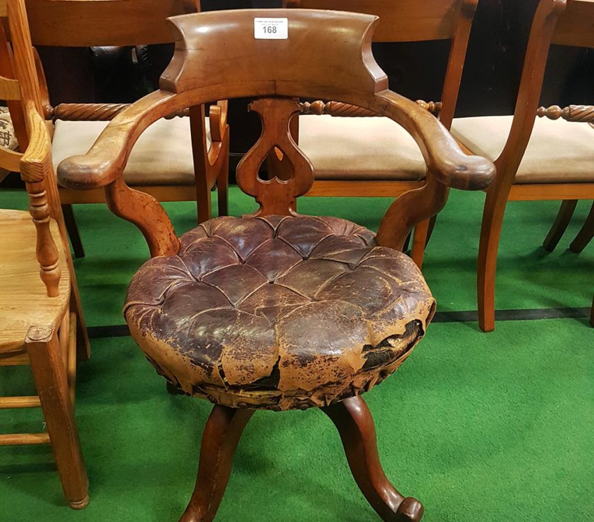 Chair at Reading auction