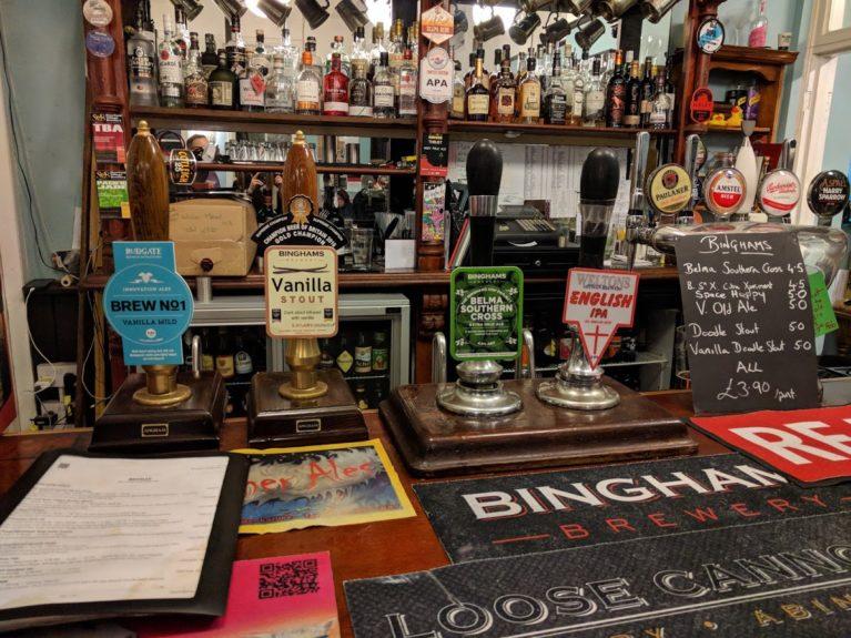 Castle Tap bar