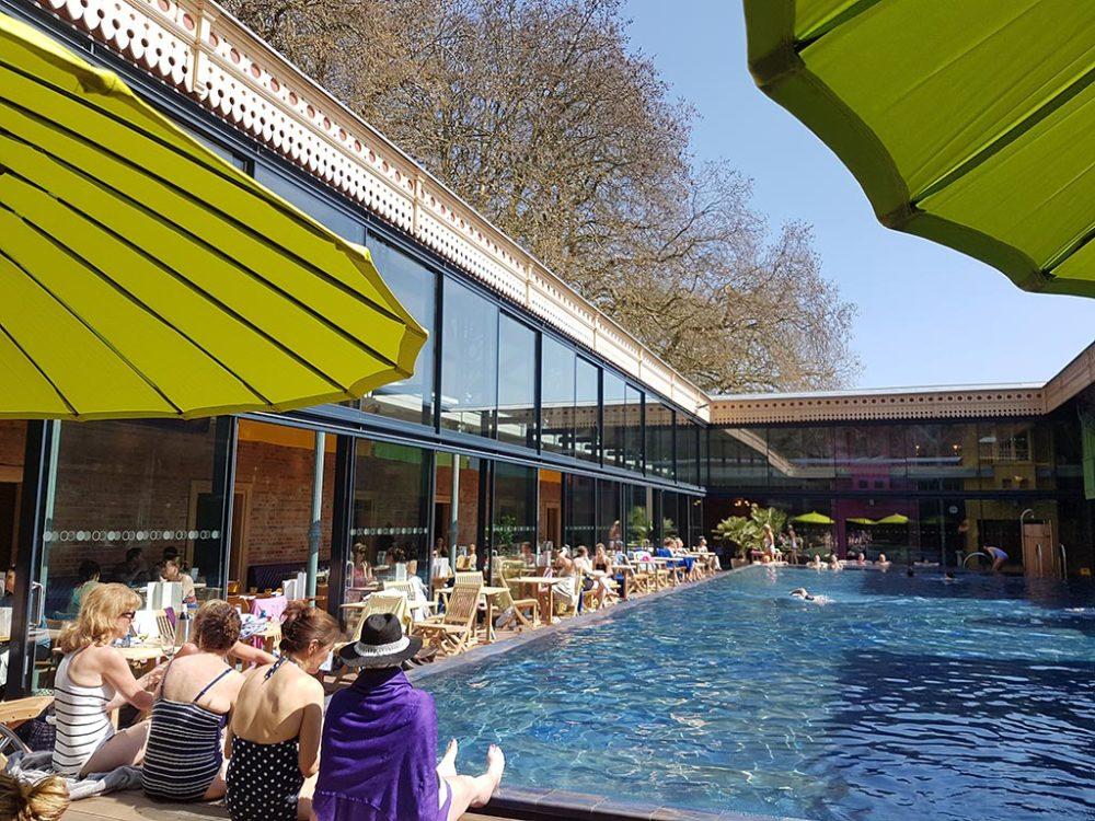 Thames Lido Swimming pool