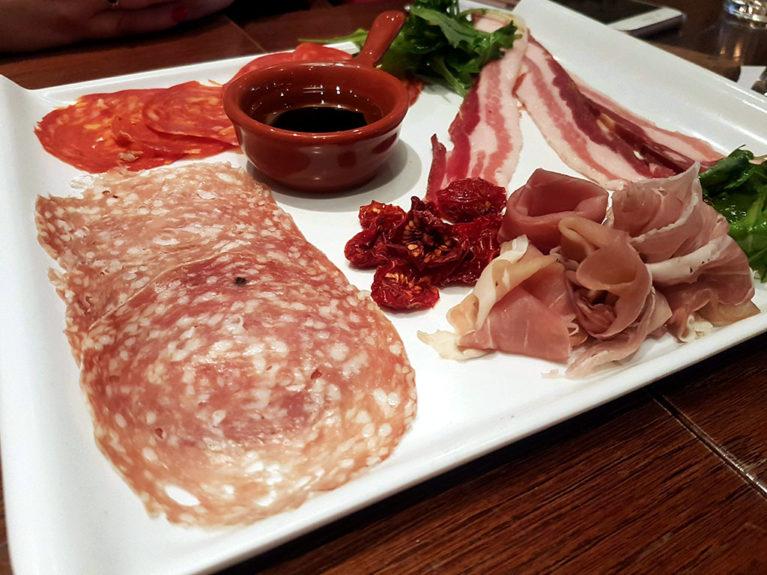 Broad Street Bar and Kitchen milanese platter