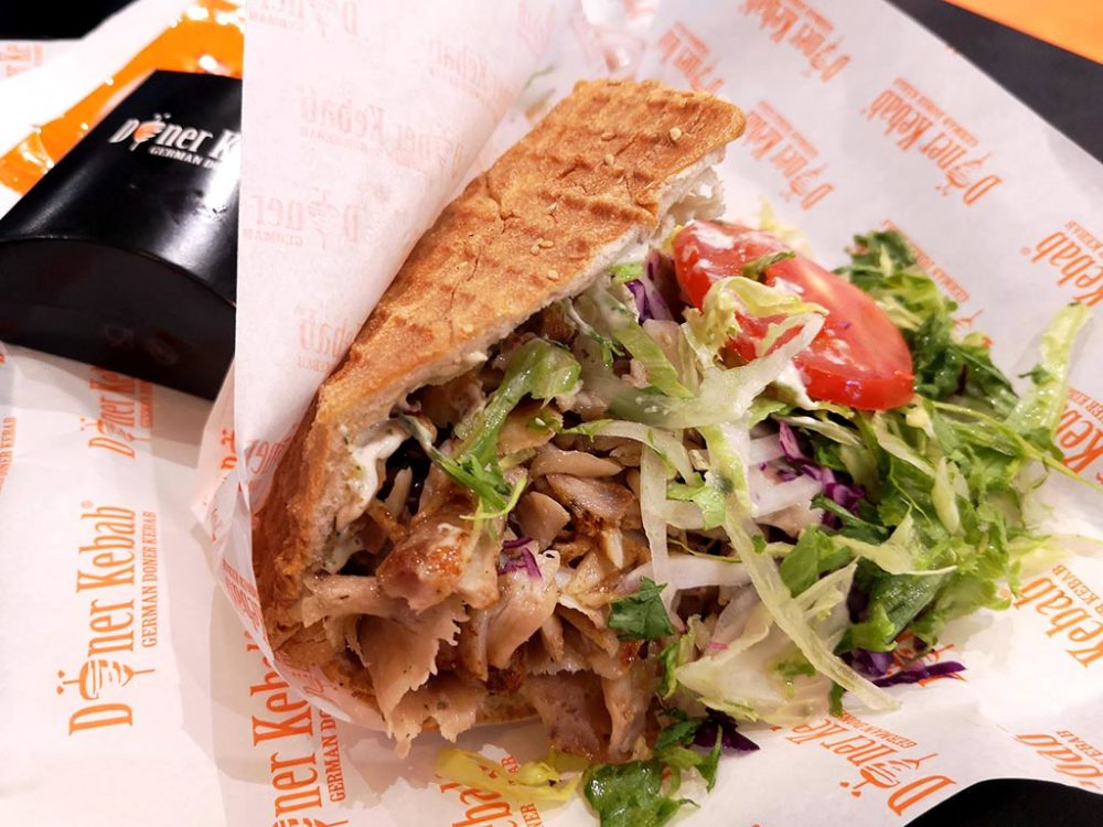Gentle, juicy, tasty - this is it - kebab